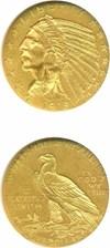 Image of 1915 $5  NGC MS61