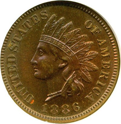Image of 1886 1c Type 1 NGC Proof 65 BN