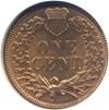 Image of 1883 1c  NGC MS64 RD