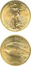 Image of 1927 $20  NGC MS64