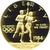 Image of 1984-W $10 Olympic NGC Proof 69 UCameo