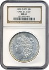 Image of 1878 7/8TF $1 Strong  VAM 37  7/4 NGC MS61