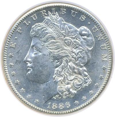 Image of 1886-S $1  NGC MS63