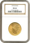 Image of 1910-D $10  NGC MS64