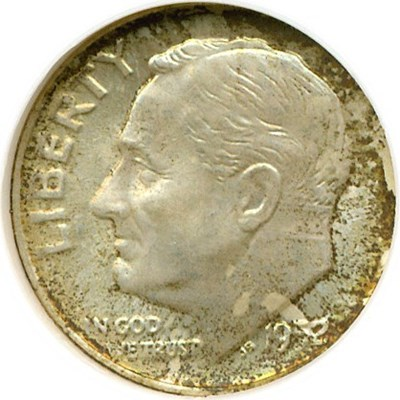 Image of 1952-D 10c  NGC MS67 FT