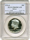 Image of 1976-S 50c Silver PCGS Proof 69  DCameo