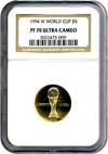 Image of 1994-W $5 World Cup NGC Proof 70 UCameo