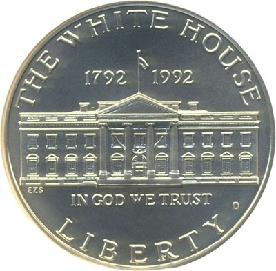Image of 1992-D $1 White House NGC MS70