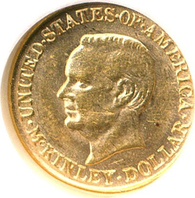 Image of 1917 G$1 McKinley NGC MS62