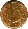 Image of 1873 1c Closed 3 NGC MS65 RB