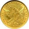 Image of 1837 $5  NGC/CAC AU58