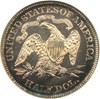 Image of 1884 50c  NGC Proof 64