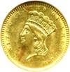 Image of 1857 G$1  NGC AU58