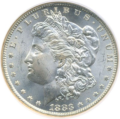 Image of 1883-CC $1  NGC MS65