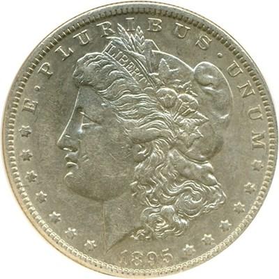 Image of 1895-O $1  NGC AU53
