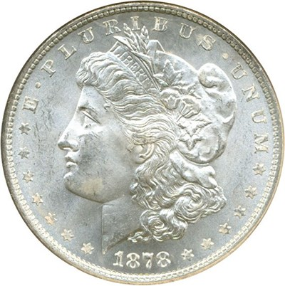 Image of 1878 8TF $1  NGC MS63