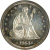 Image of 1864 25c  NGC Proof 64 * Color *