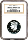 Image of 1999-S 50c Silver NGC Proof 70 UCameo