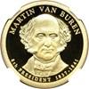 Image of 2008-S $1 Martin Van Buren NGC Proof 70 UCameo