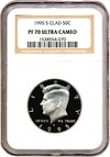 Image of 1995-S 50c  NGC Proof 70