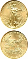 Image of 2001 $25 Gold Eagle NGC MS70