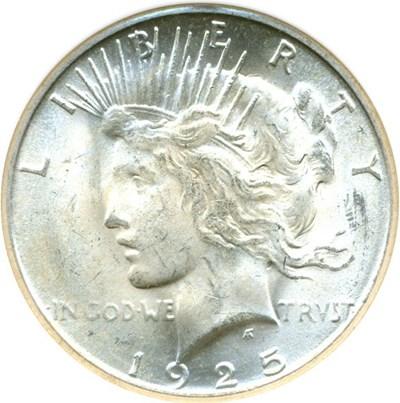 Image of 1925-S $1  NGC MS64