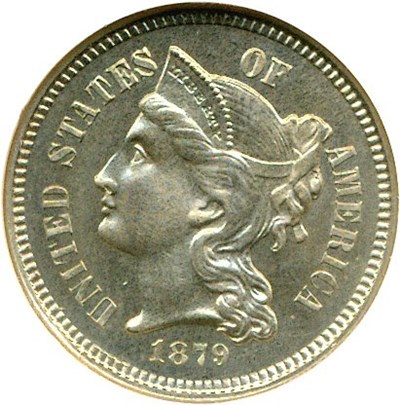 Image of 1879 3cN  NGC Proof 66
