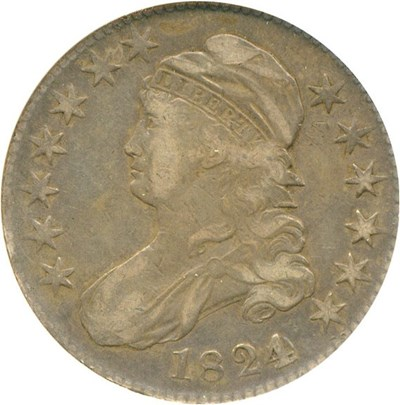 Image of 1824/Various Dates 50c NGC VF25 (O-103)