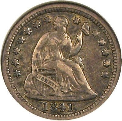 Image of 1841-O H10c  NGC XF40 ex: Jules Reiver