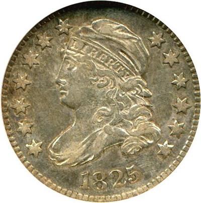 Image of 1825 10c  NGC AU50