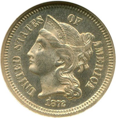 Image of 1872 3cN  NGC Proof 65