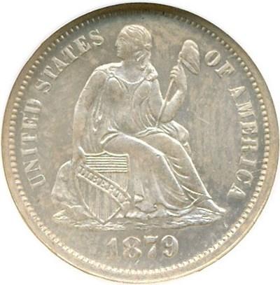 Image of 1879 10c  NGC MS64 PL