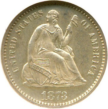 Image of 1873 H10c  NGC Proof 63
