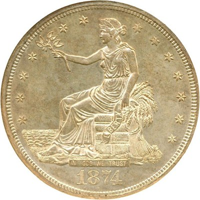 Image of 1874-CC Trade$  NGC MS63