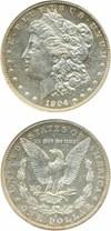 Image of 1904-S $1  NGC AU58 PL