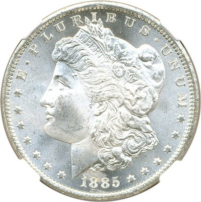 Image of 1885-CC $1 NGC MS65