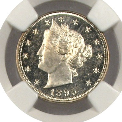 Image of 1895 5c NGC Proof 64