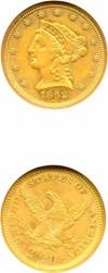 Image of 1862 $2 1/2 NGC AU53