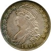 Image of 1807 Capped Bust 50c NGC MS62 (Large Stars, 50/20) * Color *