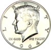Image of 1964 Accented Hair 50c NGC Proof 65