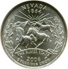 Image of 2006-D SMS Nevada 25c NGC MS67