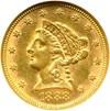 Image of 1888 $2 1/2 NGC MS61