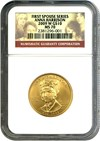 Image of First Spouse: 2009-W $10 NGC MS70 (Anna Harrison)