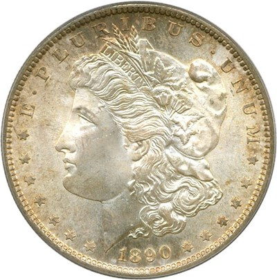 Image of 1890-S $1 PCGS/CAC MS66