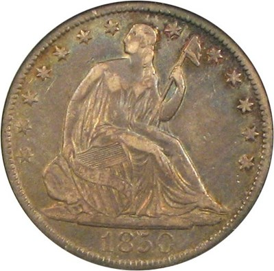 Image of 1850-O 50c NGC VF35