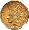 Image of 1916-S $10 NGC AU55
