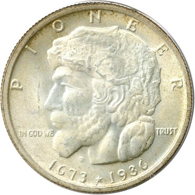 Image of 1936 Elgin 50c PCGS/CAC MS65 OGH