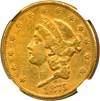 Image of 1875-CC $20 NGC XF40