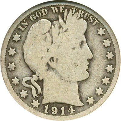 Image of 1914 50c NGC Good-4