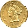 Image of 1848 $10 NGC AU53